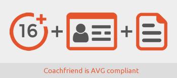 AVG werkwijze Coachfriend
